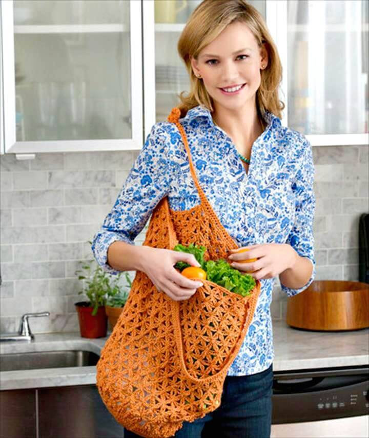 18 Free Crochet Bag Patterns Crochet Tote Bags Diy Crafts
