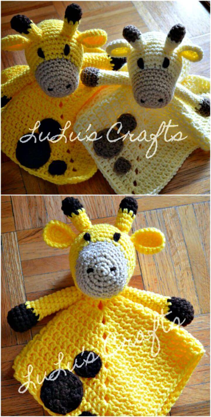 Free Crochet Lovely Crochet Giraffe Pattern