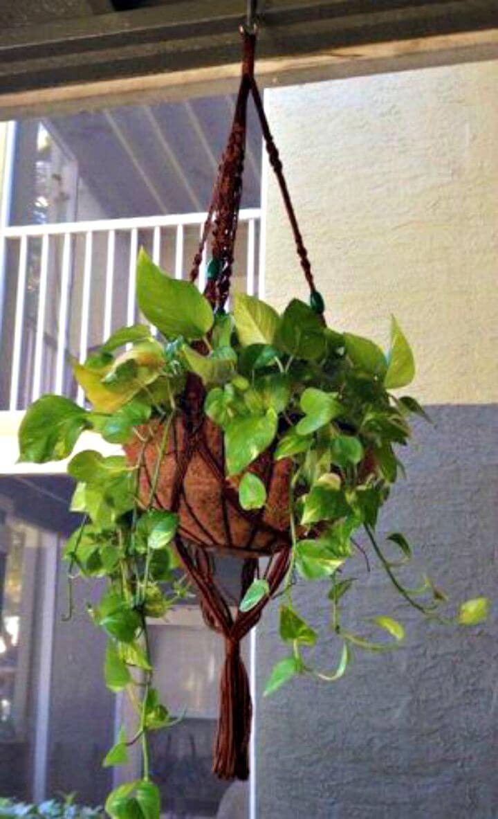 DIY Macrame Plant Hanger Adjustments
