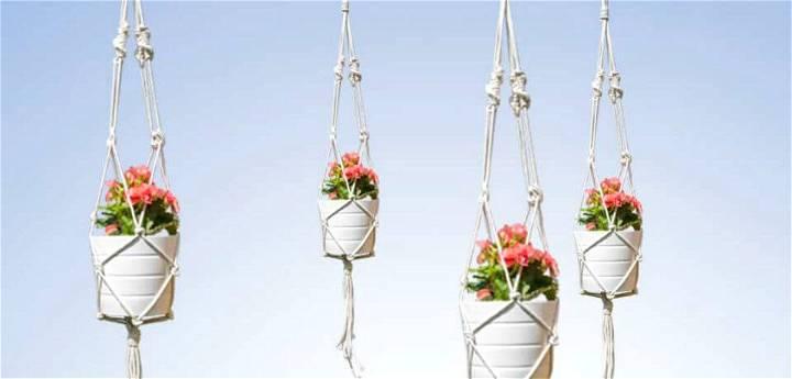 DIY Stylish Macrame Plant Hanger - Free Step by Step Instructions