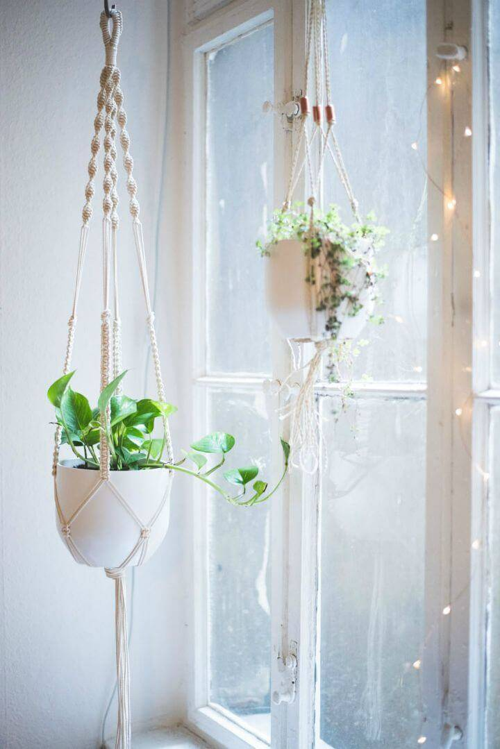 Macrame Plant Hanger 100 Best Macrame Ideas For Hanging