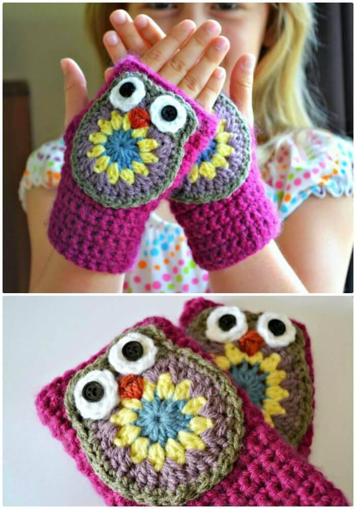 54 Free Crochet Fingerless Gloves Pattern For Beginners Diy Crafts