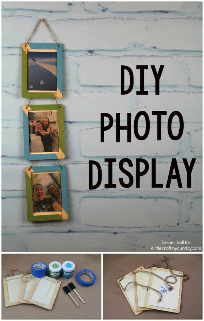 How To Easy DIY Photo Display