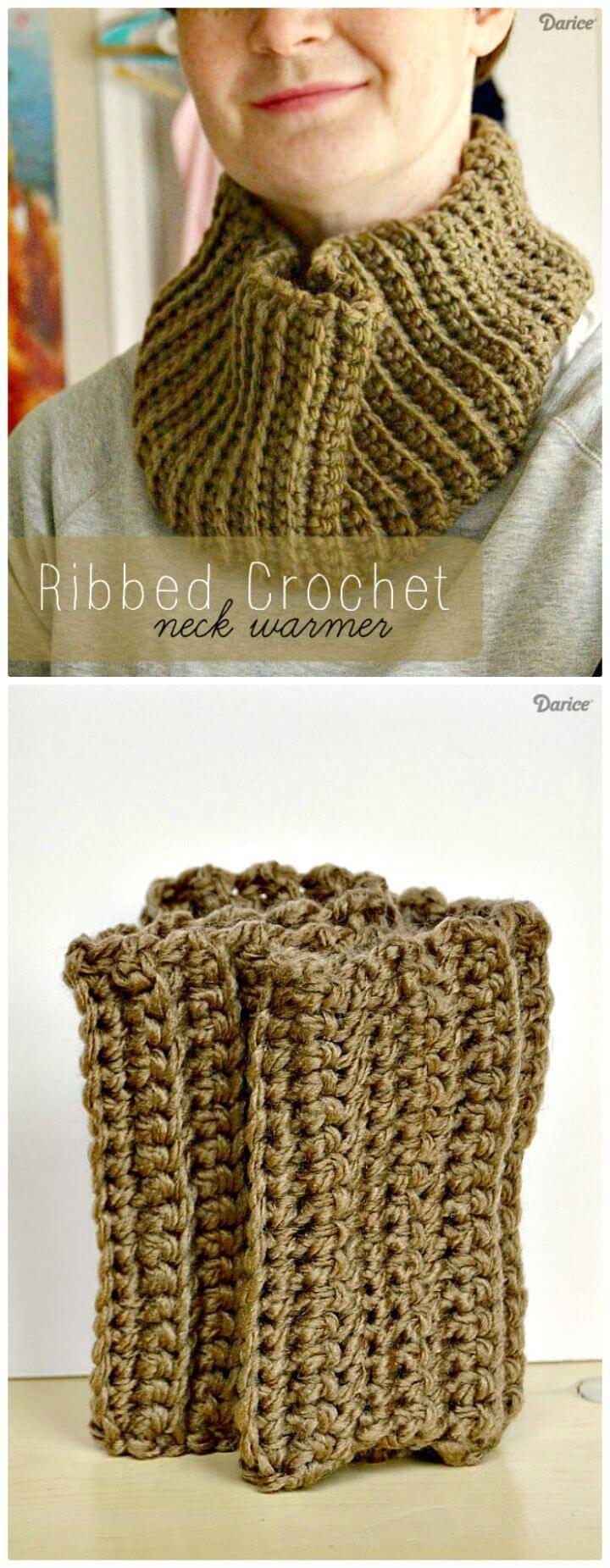 Crochet Neck Warmer - 8 Free Crochet Patterns - DIY & Crafts
