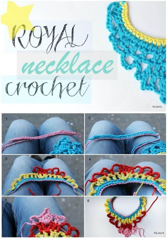 DIY Royal Crochet In Cotton - Free Pattern