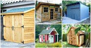 DIY Shed Plans – 36 Easy DIY Shed Designs for Your Home