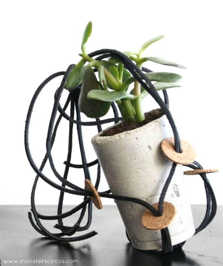 DIY Simple & Easy Macrame Hanging Planters
