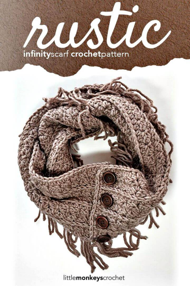 Free Crochet Slouch Hat And Fringe Infinity Scarf Pattern