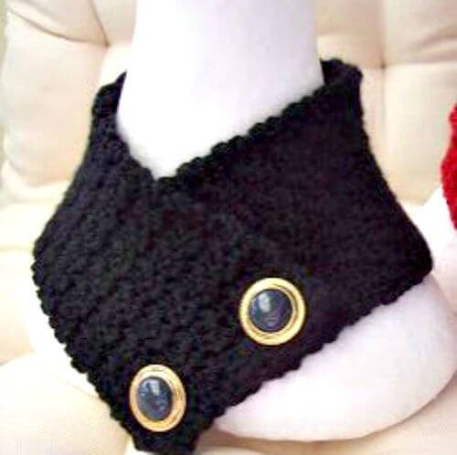 Free Crochet Stitch Neck Warmer Pattern