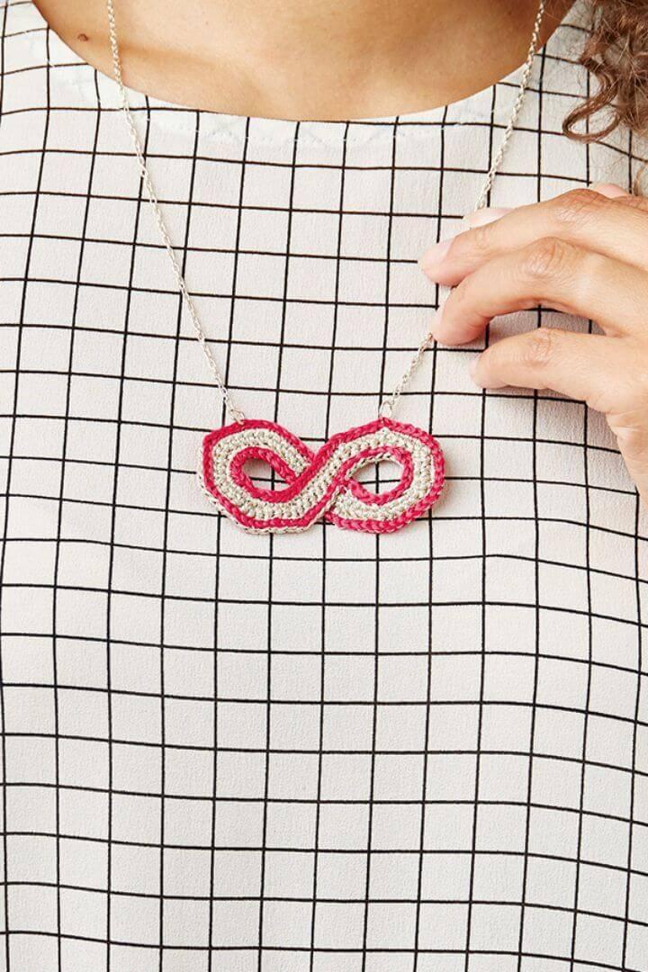 Infinity Symbol Jewelry Crochet Pattern
