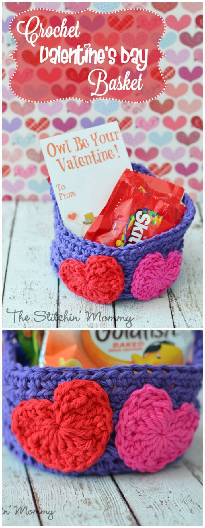 94 Free Crochet Patterns for Valentine\'s Day Gifts - DIY & Crafts