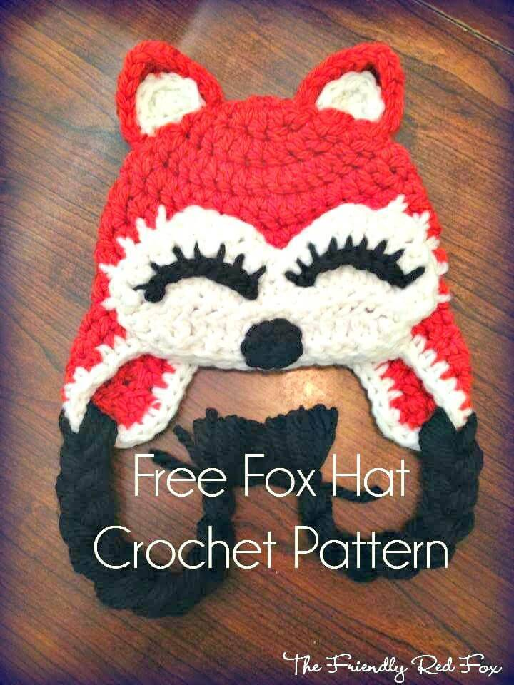 Free Fox Hat Pattern