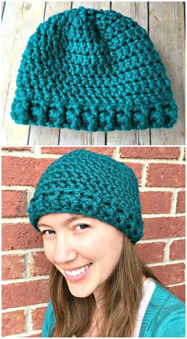 f750906315c Crochet Hat Patterns - 148 Free Patterns for Beginners - DIY   Crafts