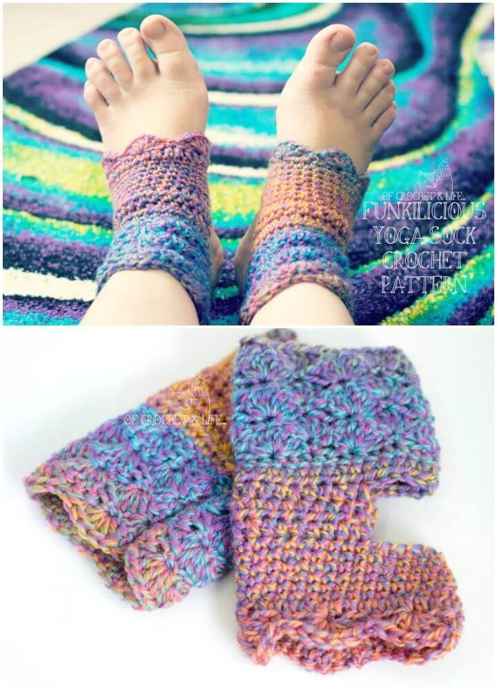 How To Easy Free Crochet Too Hot For Socks