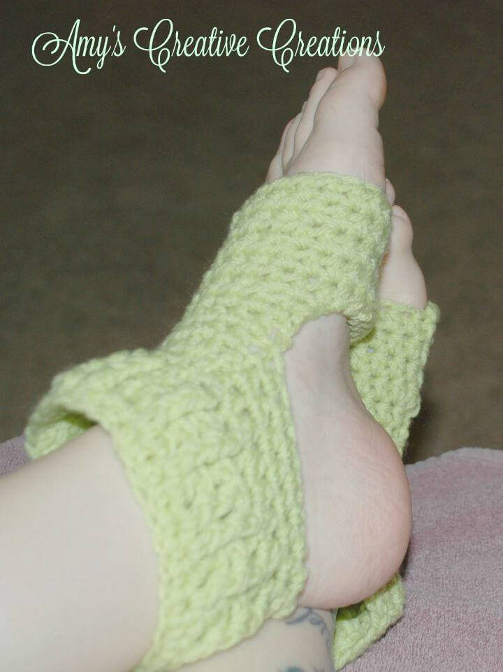 How To Easy Free Crochet Yoga Socks Tutorial With Video