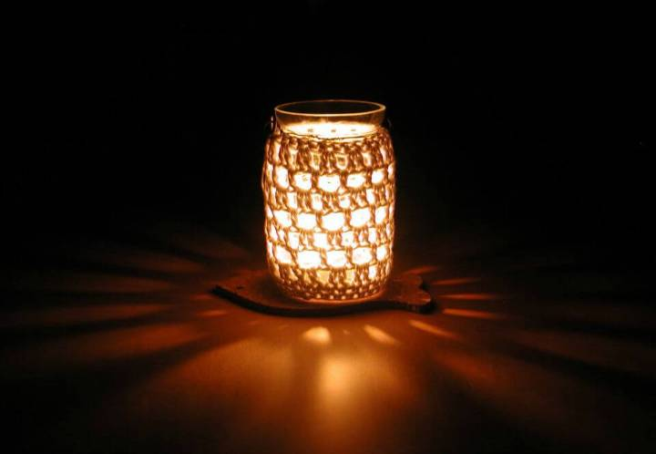 Easy Crochet Jam Jar - Free Pattern