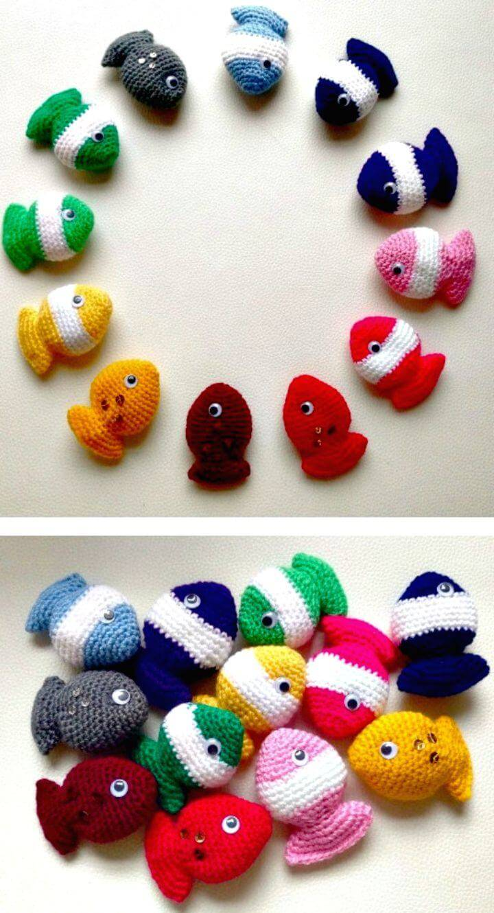 Free Crochet Fish Candy Pattern