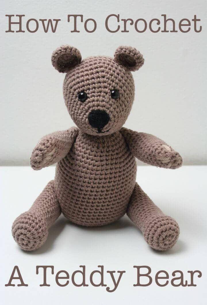 Free Awesome Crochet Teddy Bear Pattern