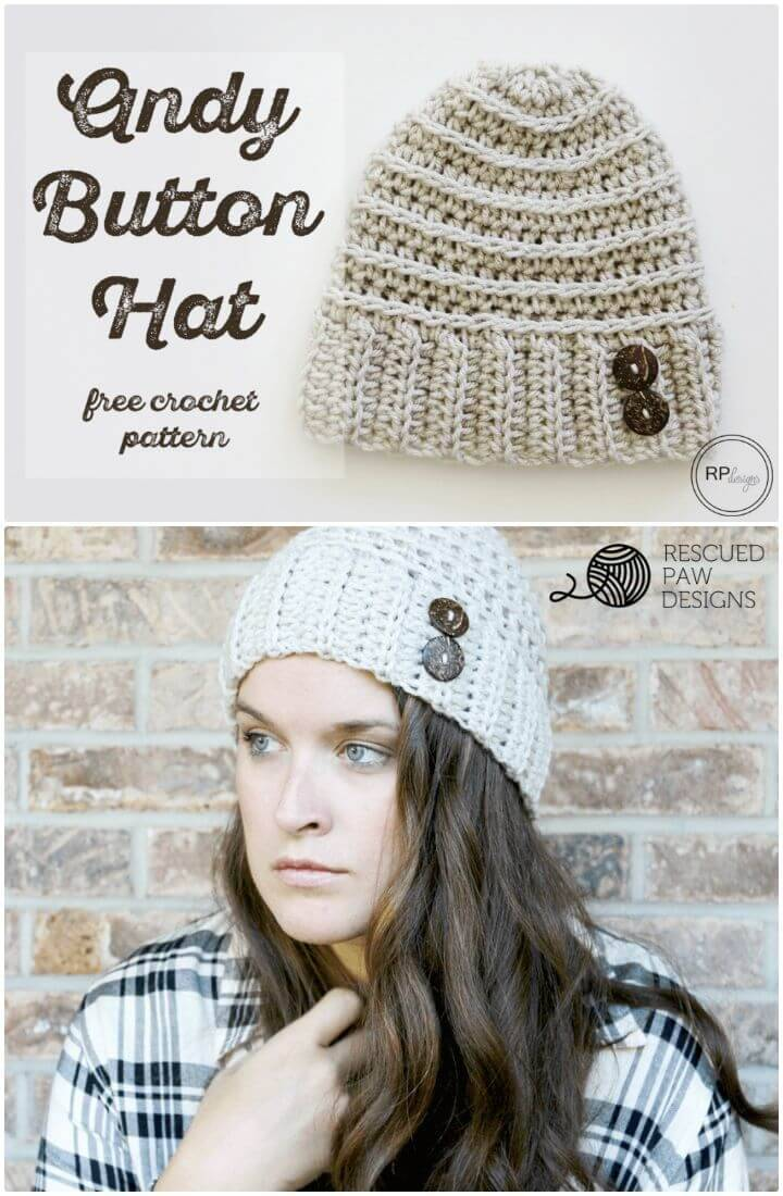 How To Free Crochet Andy Hat Pattern