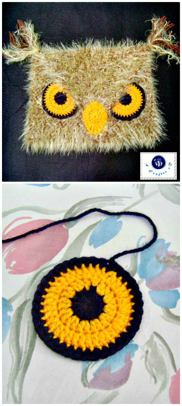 Crochet Angry Owl Hat - Free Pattern