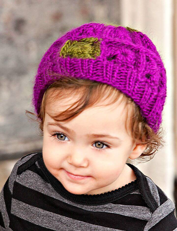 How To Free Crochet Baby Granny Hat Pattern
