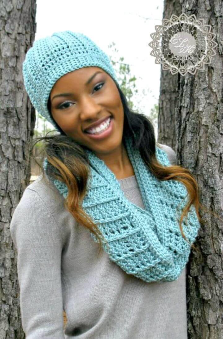 How To Free Crochet Beanie Cap Pattern