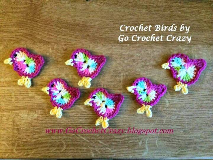 Free Crochet Bird Pattern & a Crochet Car Seat Toy
