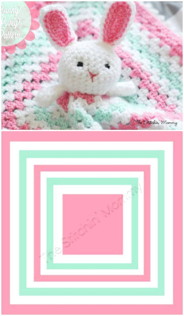 How To Free Crochet Bunny Lovey Pattern