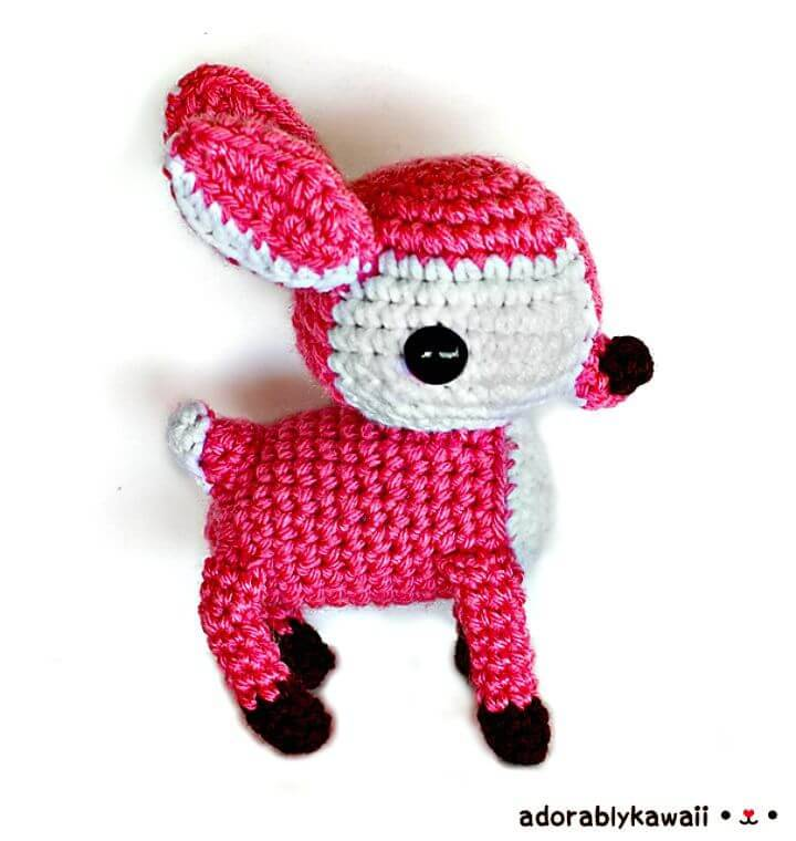 How To Crochet Deer Amigurumi - Free Pattern