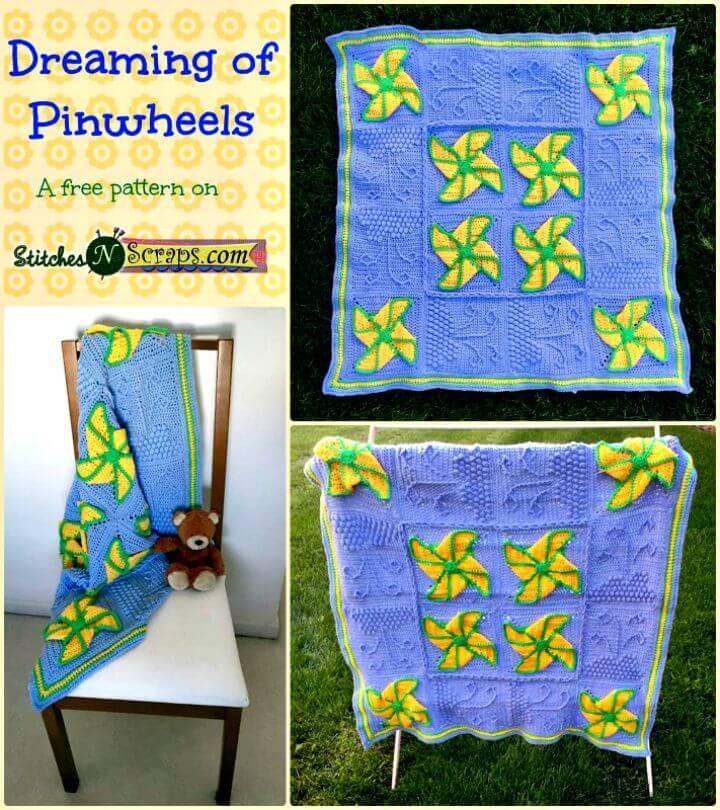 Crochet Dreaming Of Pinwheels Pattern