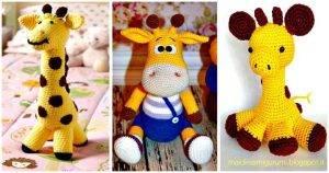 32 Free Crochet Giraffe Amigurumi Patterns
