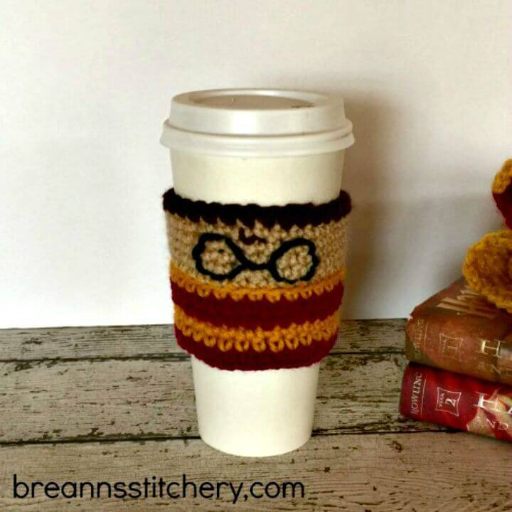 Free Crochet Harry Potter Coffee Cozy Pattern