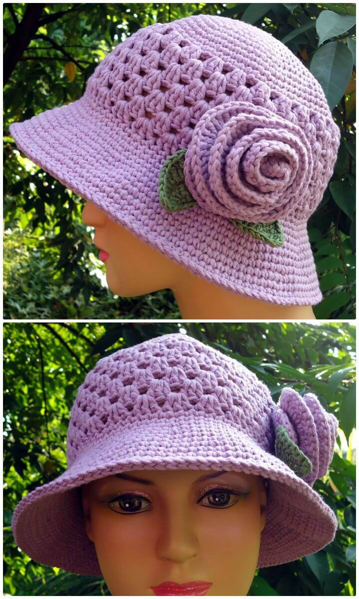 How To Free Crochet Hat For Mom Pattern