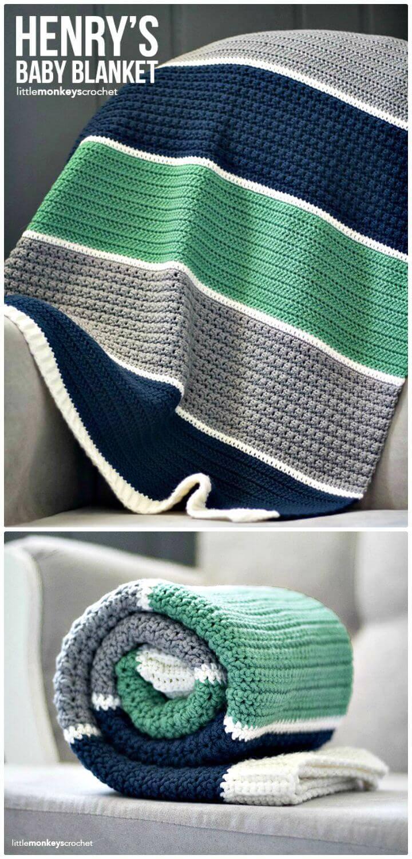 Crochet Henry'S Baby Blanket - Free Pattern