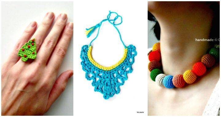 19 Free Crochet Jewelry Patterns To Change Your Fashion