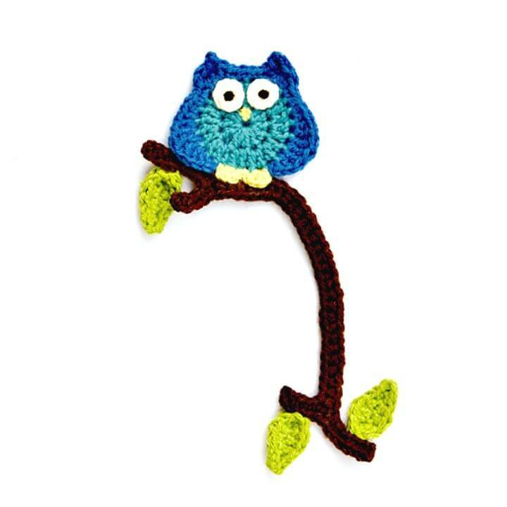Free Crochet Little Owl Bookmark Pattern