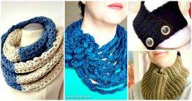 Free Crochet Neck Warmer Patterns - DIY Crafts