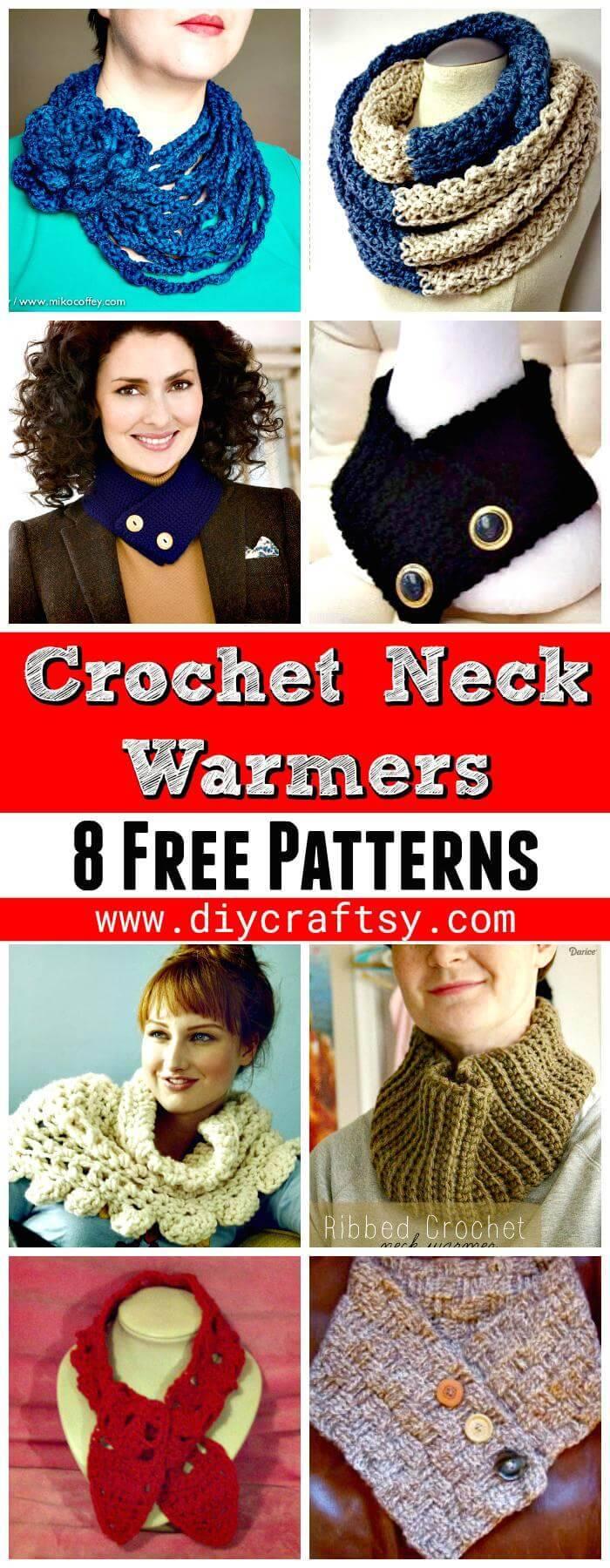 Free Crochet Neck Warmer Patterns