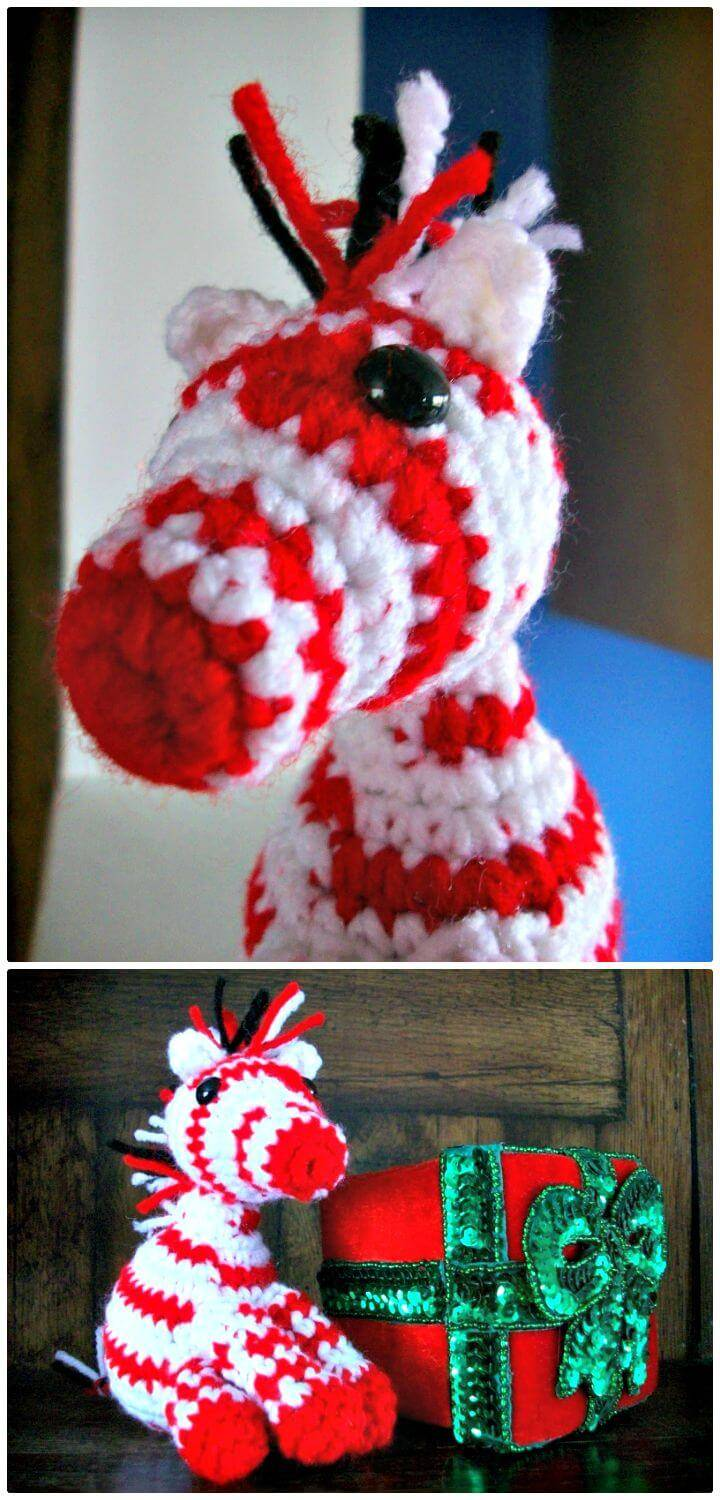 How To Make Peppermint Zebra Free Crochet Pattern