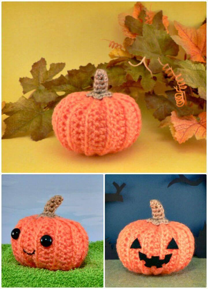 How To Crochet Pumpkin Amigurumi - Free Pattern