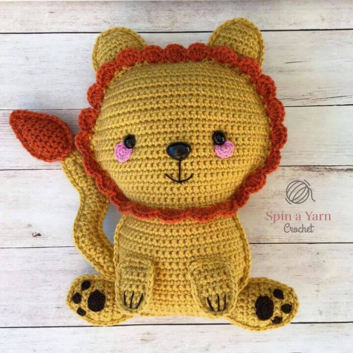 How To Free Crochet Ragdoll Lion Pattern