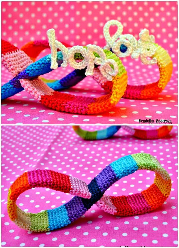 How To Crochet Rainbow Of Hope And Love - Free Pattern