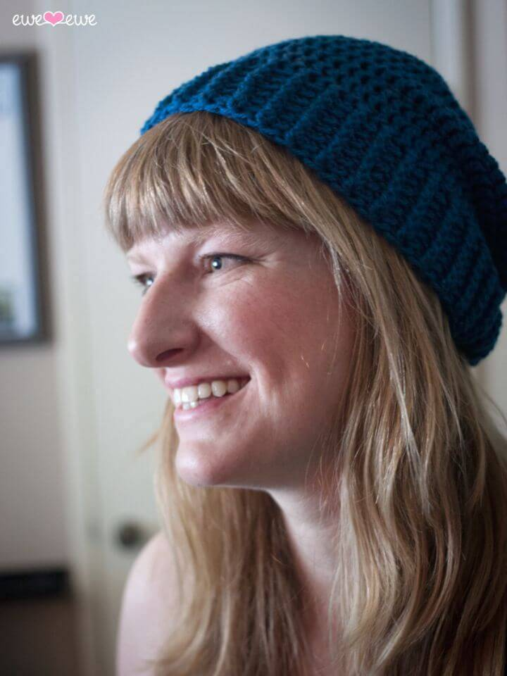 How To Free Crochet Shanti Hat Pattern