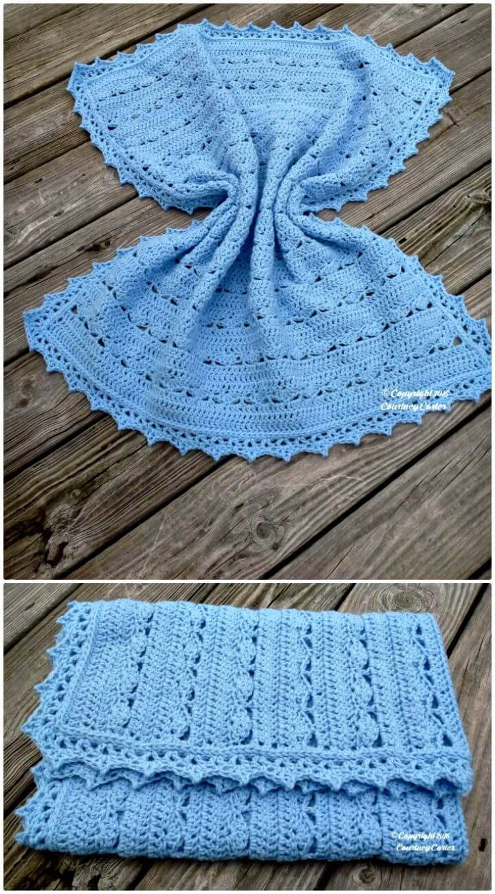 Crochet Simply Stunning Baby Blanket - Free Pattern