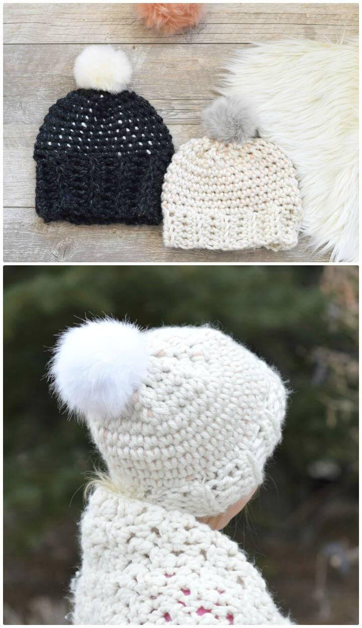 How To Free Crochet Starry Sky Hat Pattern