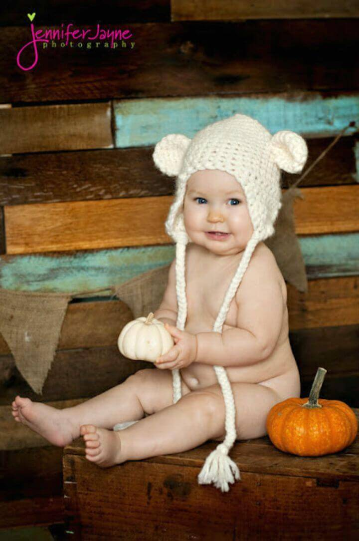 How To Free Crochet Teddy Bear Hat Pattern
