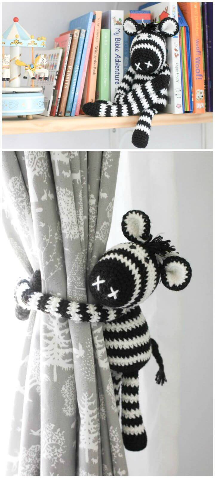 Free Crochet Thandi The Crochet Zebra Pattern