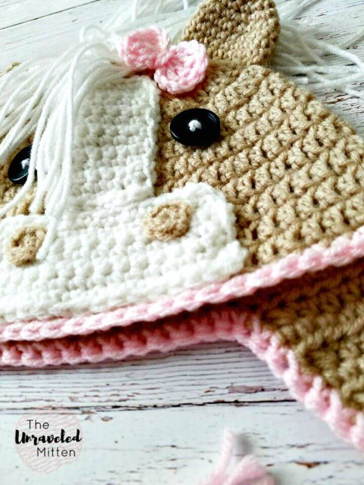 Crochet The Callie Horse Hat - Free Pattern