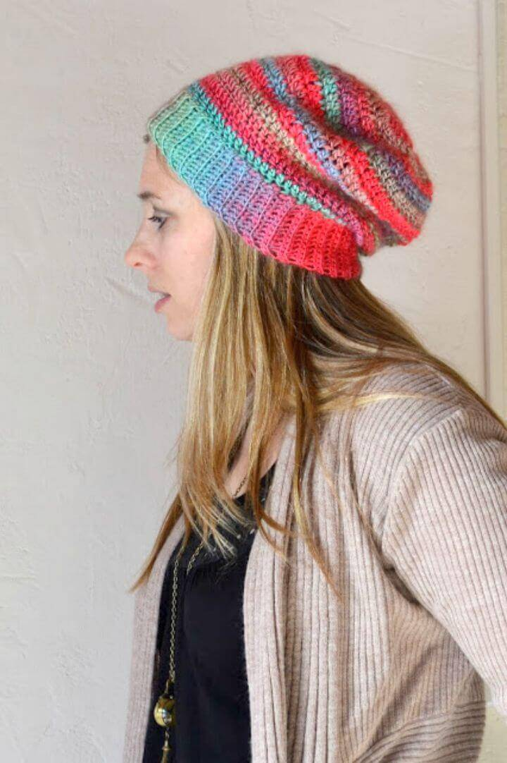 Free Crochet Unforgettable Hat Pattern