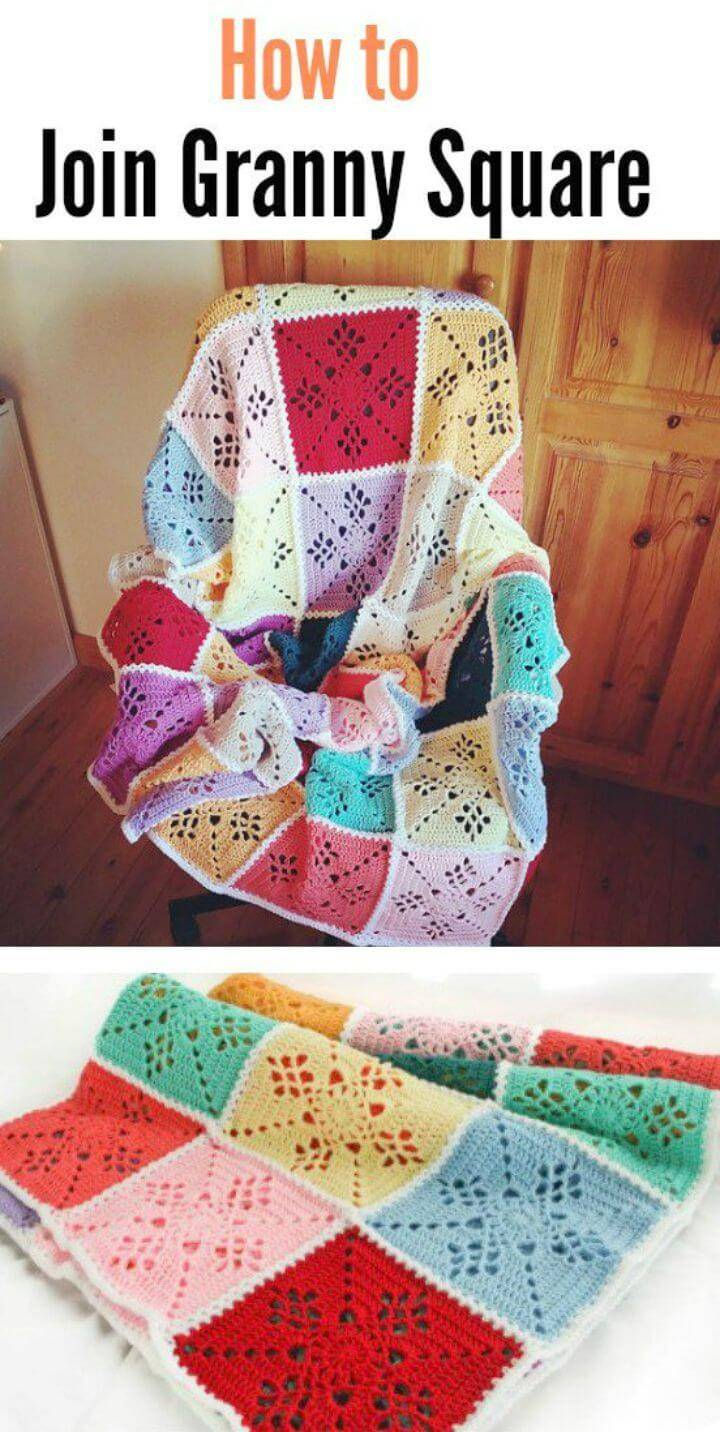 Easy Free Crochet Victorian Lattice Square Blanket Pattern